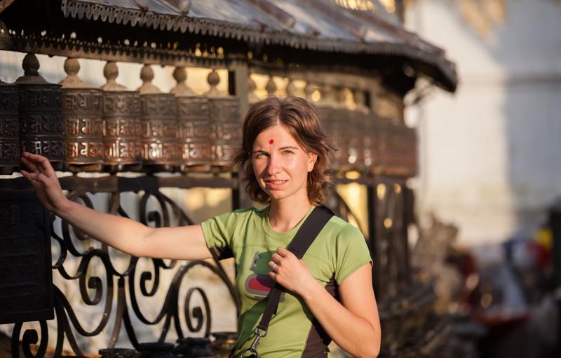 Familiereis INDIA EN NEPAL AVONTUUR - 22 dagen; Gebedsvlaggen en heilige koeien
