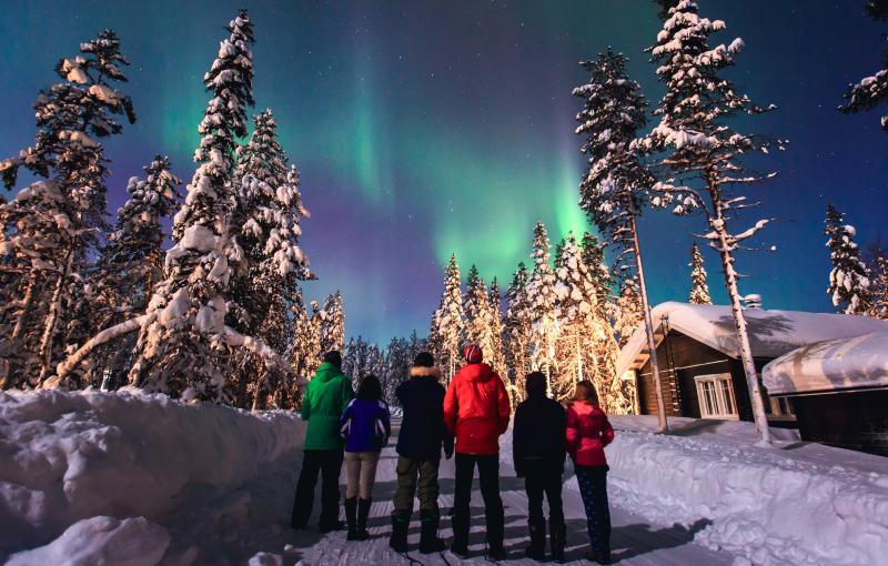 Familiereis FINLAND: LAPLAND - 7 dagen; Winters noorden