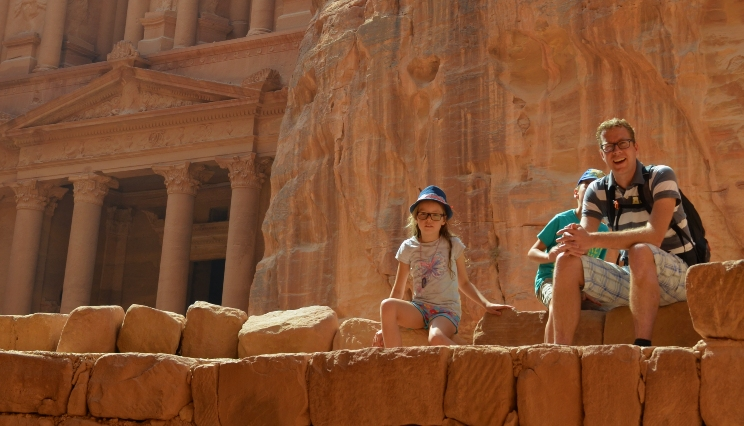Familiereis JORDANIË KORT - 8 dagen; In de voetsporen van Indiana Jones